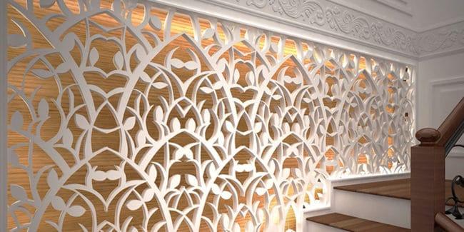 Декор из дерева изготовленный на фрезерном станке